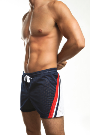 Relay Air Mesh Gym Shorts by Jack Adams